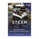 Steam Wallet Card 10 USD
