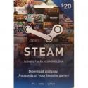 Steam Wallet Card 20 USD