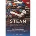 Steam Wallet Card 50 USD