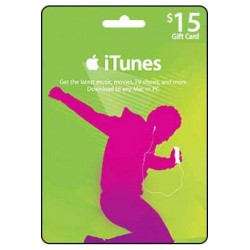 Itunes Gift Card 15 USD [US Region]