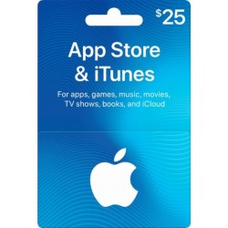 Itunes Gift Card 25 USD [US Region]