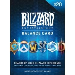 $20 Battle.Net Gift Card