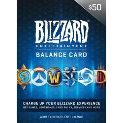 $50 Battle.Net Gift Card