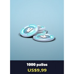 1000 Pavos [FORNITE PC]