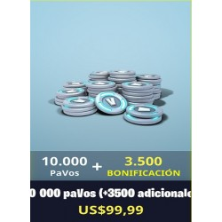 10.000 Pavos + 3500 [FORNITE PC]