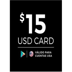 Google Play 15 USD [US Region]
