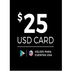 Google Play 25 USD [US Region]