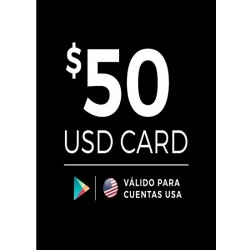 Google Play 50 USD [US Region]
