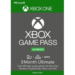 Xbox Ulyimate Pass Xbox One 3 meses