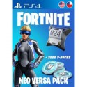 [PS4] Fortnite Neo Versa + 2000 v-Bucks