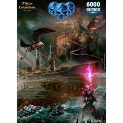 6000 Gemas Mitos y Leyendas Online