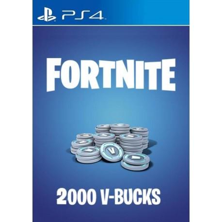 Fortnite 2000 v-Bucks [PS4]