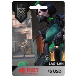 RIOTS ACCES 5 USD LAS-LAN