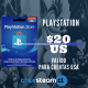 PlayStation Store 20 USD Prepago - PS3/ PS4/ PS Vita