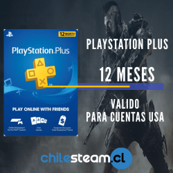 PlayStation Plus 12 meses Usa