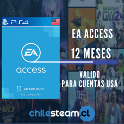 EA Access Playstation 12 Meses