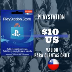 PlayStation Store 10 USD Prepago - PS3/ PS4/ PS Vita