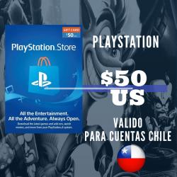 PlayStation Store 50 USD Prepago - PS3/ PS4/ PS Vita