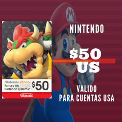 Nintendo eShop 50 USD [US REGION]