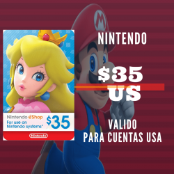 Nintendo eShop 35 USD [US REGION]